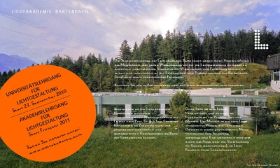 Lichtakademie Bartenbach
