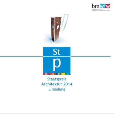 Preisverleihung Staatspreis Architektur 2014