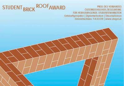 Student Brick & Roof Award-AusschnittPlakat