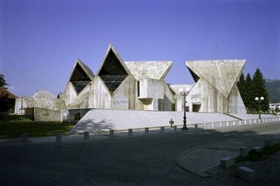 Wolfgang Thaler – Memorial house, Kolašin, Montenegro, 1975, Arch. Marko Mušič
